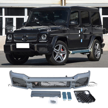 For Mercedes G-Class W463 G65-Style Front Bumper Fender Flare (PP) 1999-2017