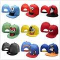 Мультяшном Стиле Бейсболки Аниме Животных мужская Кресты Вышивка Хип-Хоп Snapback Регулируемые Шляпы Женщин Casquette Повернет Вспять