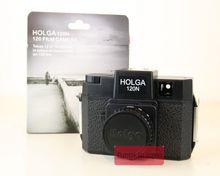 HOLGA120 cámara de formato medio, N/N, color negro, lomografía, Lomo, Kodak, Fujifilm