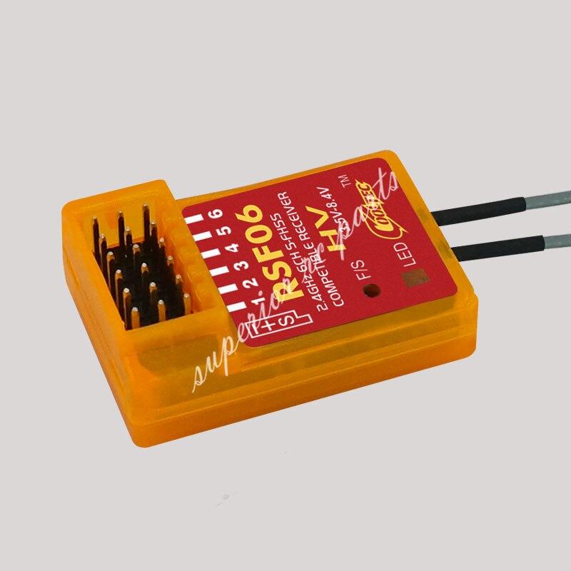 Hot Sale] Cooltech new Mini R6008HV FASST 2 4G 6Ch Receiver