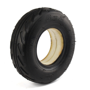 Solid Foam Tire 6X2 Tyre Fits