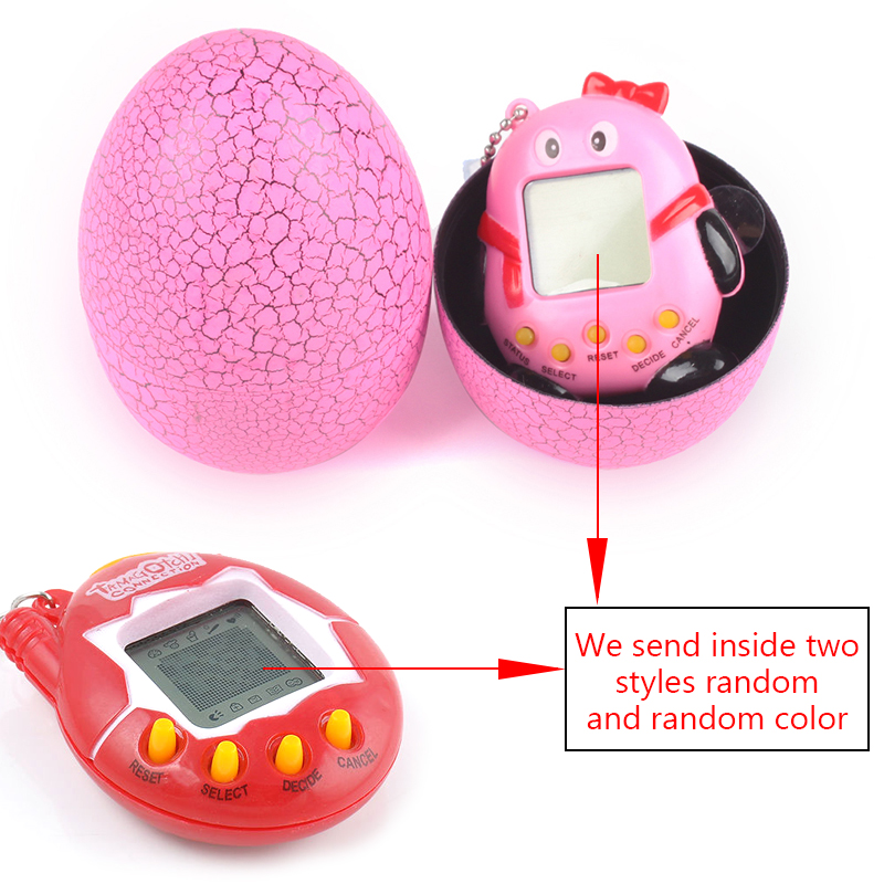 Electronic Pets Electronic Toys 168pets 90s Nostalgic Virtual Pet Musical Cyber Pet Digital Pet Tamagotchi Penguins E-pet Gift Toy Mini Handheld Game Machine