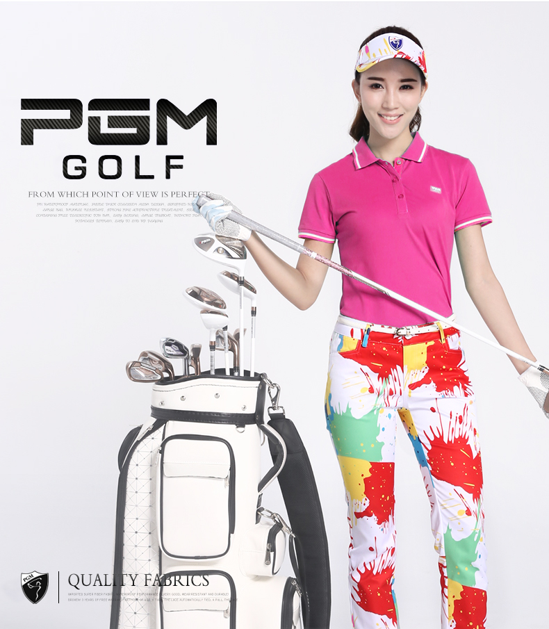 b4df1bbe PGM golf wear, ladies Golf ball wear, summer clothes, short sleeve women's t -shirts