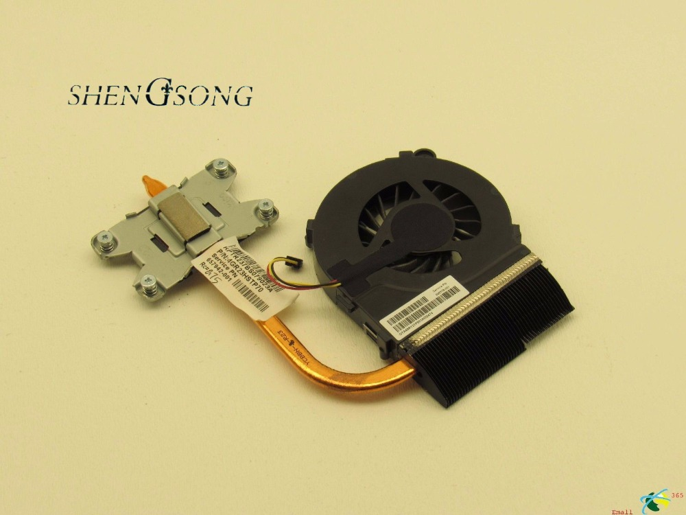 Free Shipping New cooler for HP pavilion G4 G6 G7 G4-1000 G6-1000 G7-1000 cooling heatsink with fan 657942-001 new laptop cpu cooling fan for hp pavilion g7 1070us g7 1150us g7 1310us g7 1219wm series 595833 001