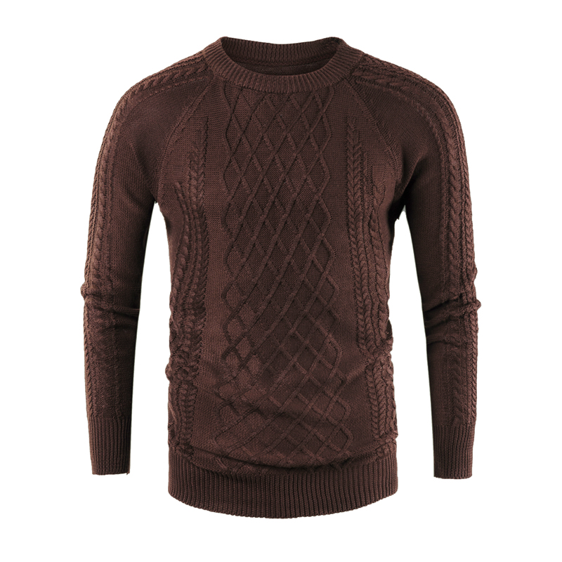 Sweater Men's Wear New Round Collar Pullover Knitted Sweater Mens Pullover Sweaters Men Clothes 2018 Autumn Winter  Clothes
