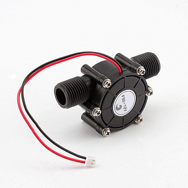 Water Turbine Generator 12V DC Micro-hydro Charging Durable Tool Wireless Power for LED lights –M25