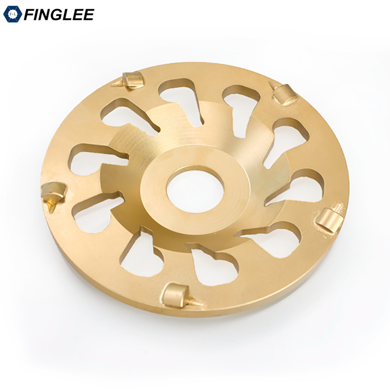 цена на 5inch 130mm Cup PCD Metal Diamond Grinding Wheel Disc Bowl Shape Grinding Cup for Coating Removing