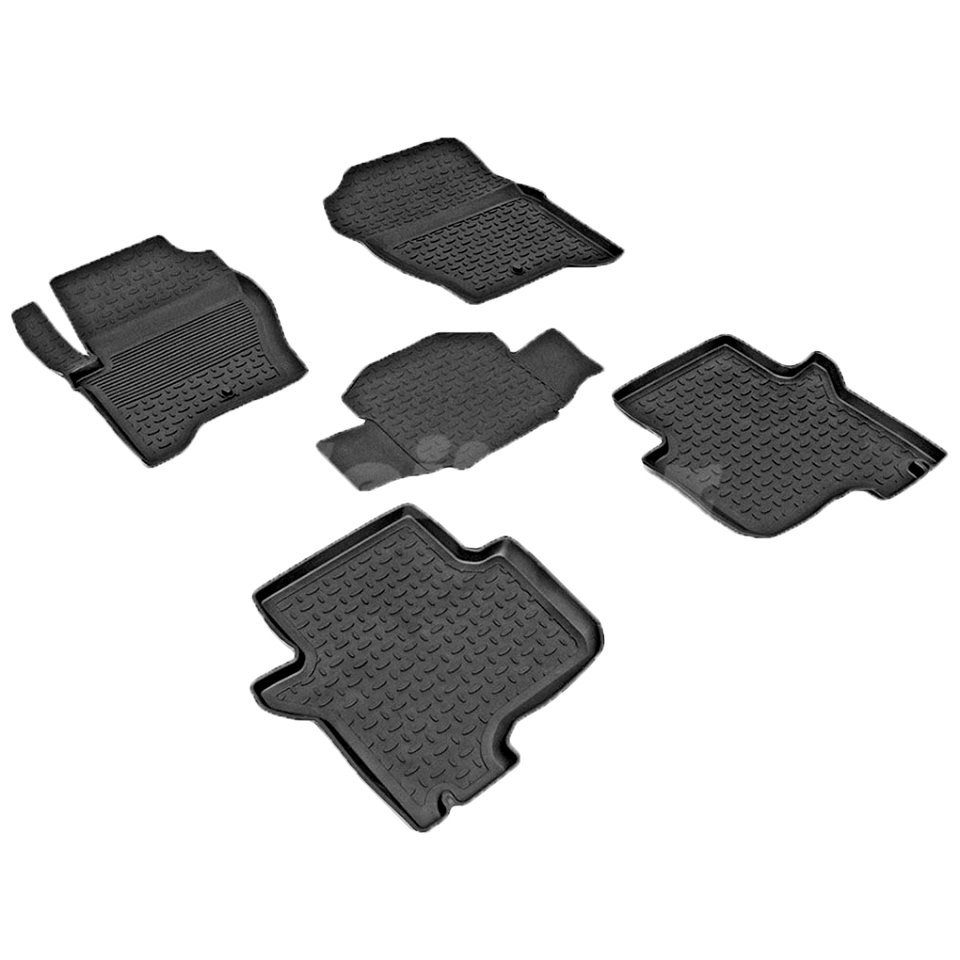 Rubber floor mats for Land Rover Discovery III 2004-2009 Seintex 84078