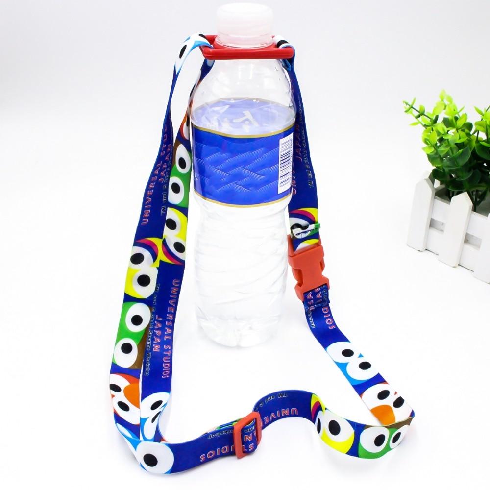 Baby Buckle Lanyard Water Bottle Shoulder Strap Bottles Rope Beverage Holder
