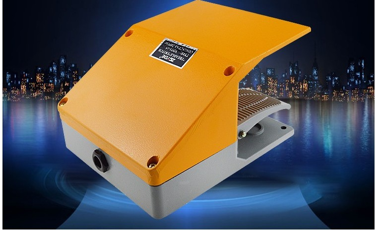 Special high-quality all-aluminum foot switch double brake bending machine cutting plate machine YDT1-15 yellow cover gray cover high quality trumpf style press brake tooling special tooling bending dies