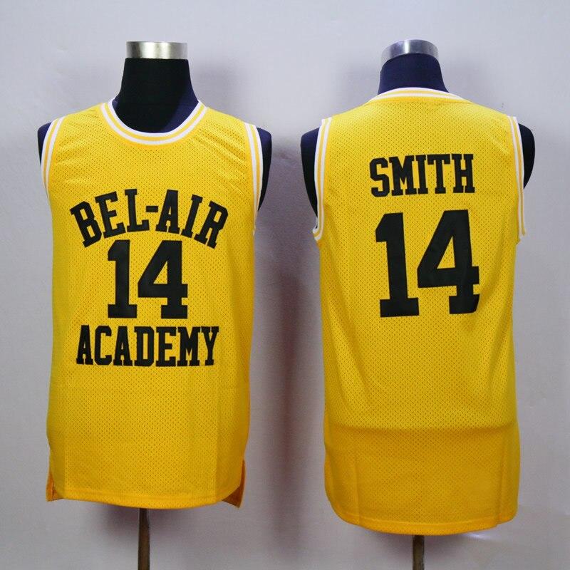 Will Smith Basketball Jersey, Die Prinz von Bel Air Akademie 25 Carlton Banken Basketball Jerseys, 14 Wird Smith Jersey