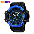 2016 SKMEI Men's Digital Watch S SHOCK  Alarm Men Watch 50M Water Resistant Date Calendar LED Big Dial Sports Watches