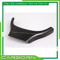 For BMW 5 Series F10/F11/F07 Non M sport Replacement Style Carbon Fiber Steering Wheel Trim Standard Version Only