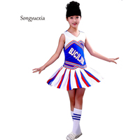 2017 New Retail And Wholesale Children S Performance Clothes Suit Girl And Boy Cheerleading Stage Costume