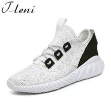 Tleni 2018 New Men Running Shoes Men Comfortable Sport Shoes Summer Athletic Trainers Jogging Gym Shoes ZB-77