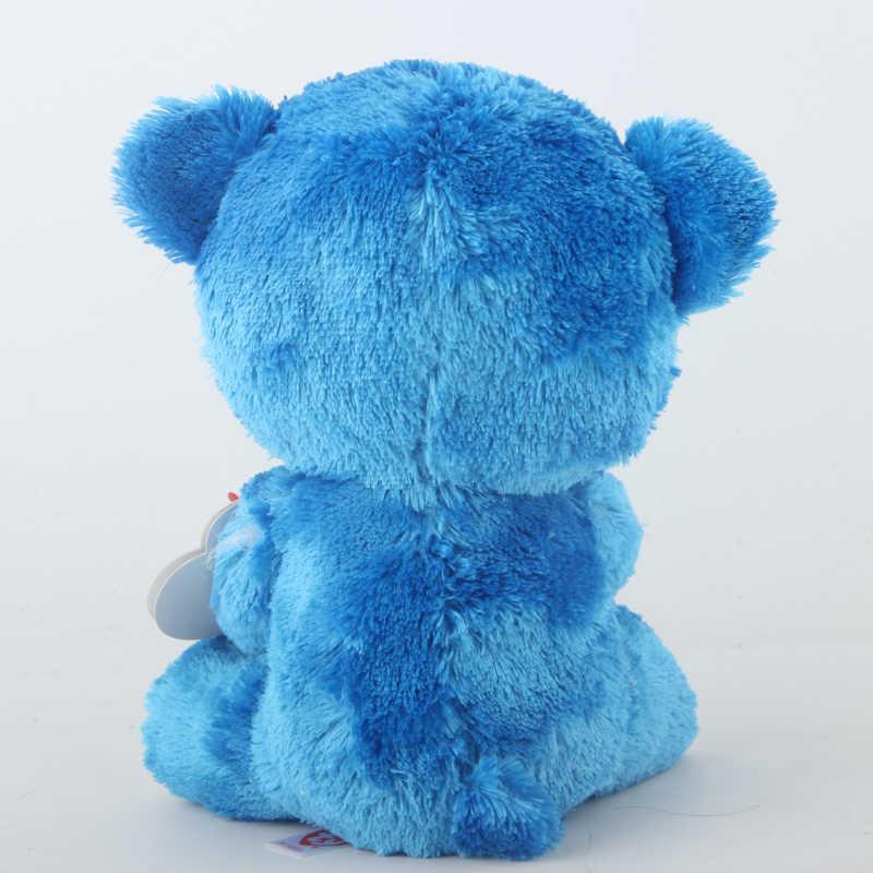 Ty бини Боос мягкие и плюшевые животные Romeo The Bear I Love Italy игрушка кукла 15 см