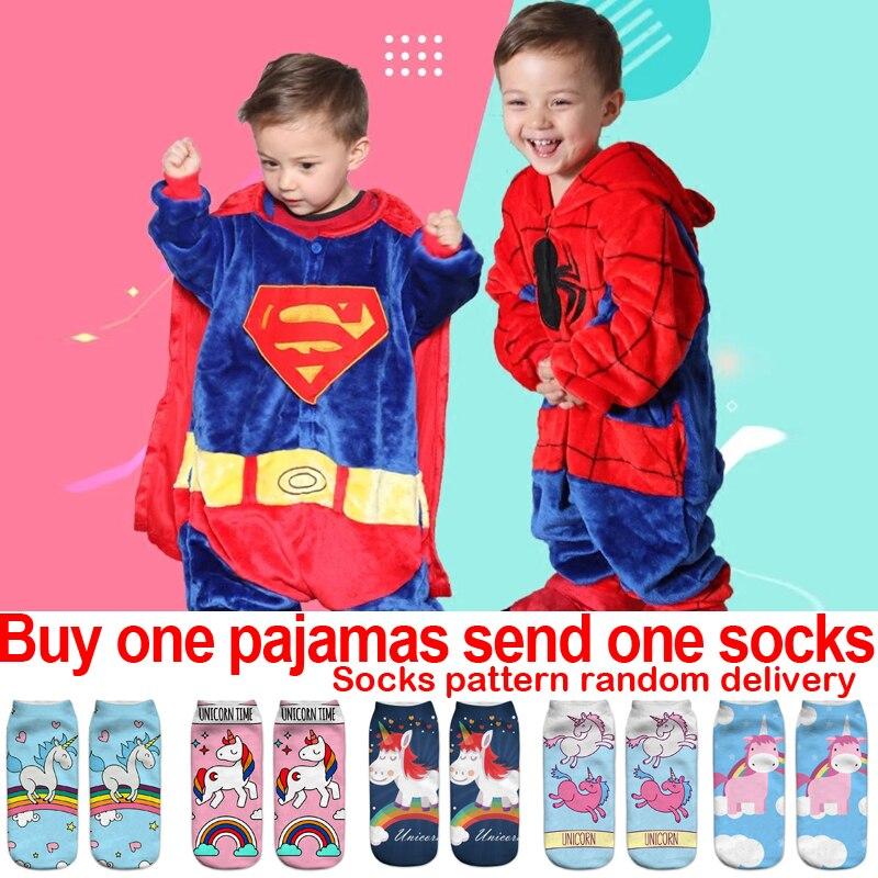 845f5413fcde6 Acheter Super Hero Pyjamas Enfants Pyjamas Pour Garçons Superman Cosplay  Anime Enfants Animaux Onesie Garçon Fille Traverses Polaire Flanelle Pas  Cher Prix