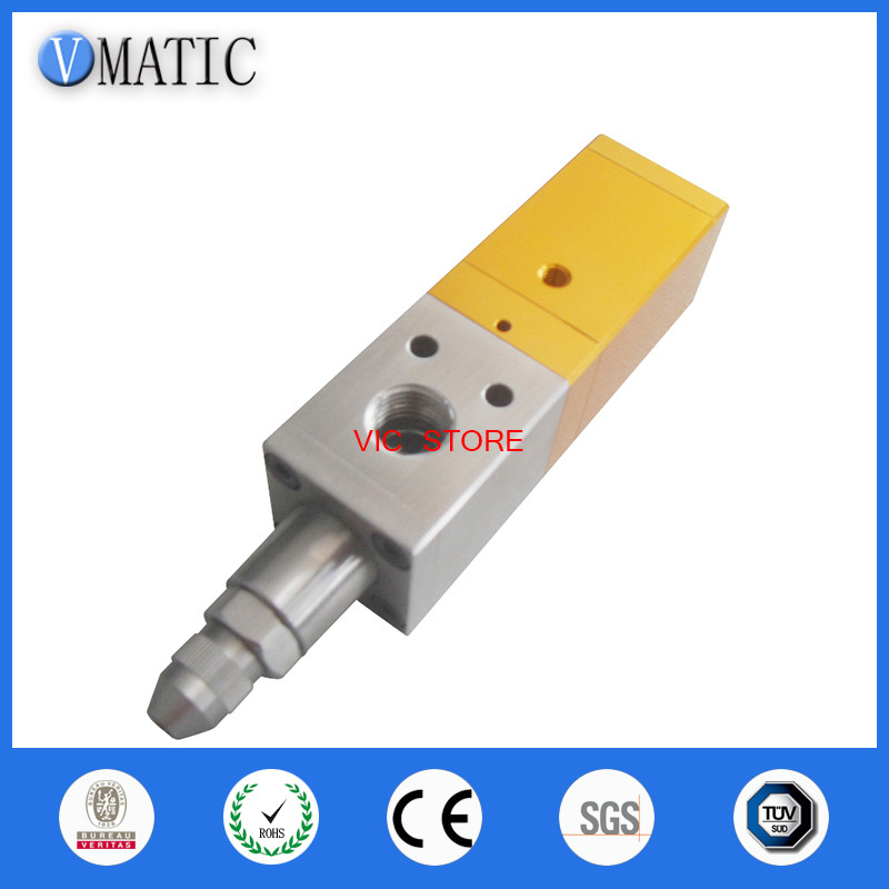 Suck back dispensing valve, glue dispense nozzle VC-H3131 free shipping stainless steel suck back dispensing valve glue dispense nozzle dispenser controller