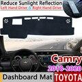 Для Toyota Camry 70 XV70 2018 2019 2020 Противоскользящий коврик панель управления накладка солнцезащитный коврик для защиты ковров автомобильные аксесс...