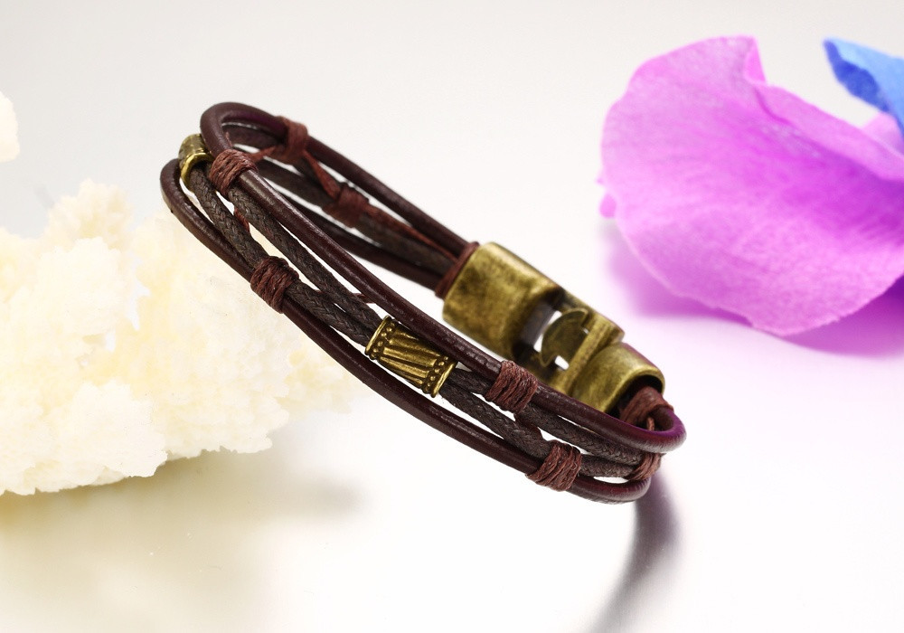 PH855J-(10)_ leather bracelets