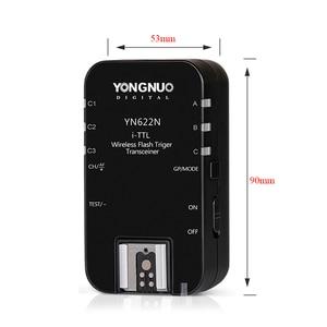 Image 5 - Yongnuo Wireless Flash Trigger Kit YN622N KIT Transmitter Controller YN622N TX + i TTL Transceiver Receiver YN622N for Nikon