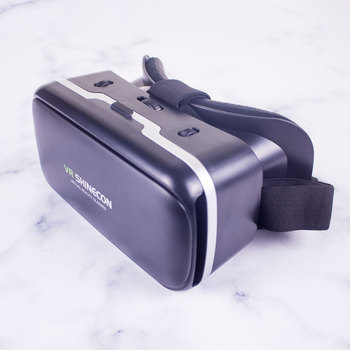 VR SHINECON G04 Virtual Reality Headset 3D VR Glasses for 4.7-6.0 inches Android iOS Smart Phones 4