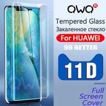 11D Full Cover Tempered Glass For Huawei P30 Pro P20 Lite Pro P Smart 2019 Screen Protector Film For Mate 20 Pro 10 Lite Glass(China)