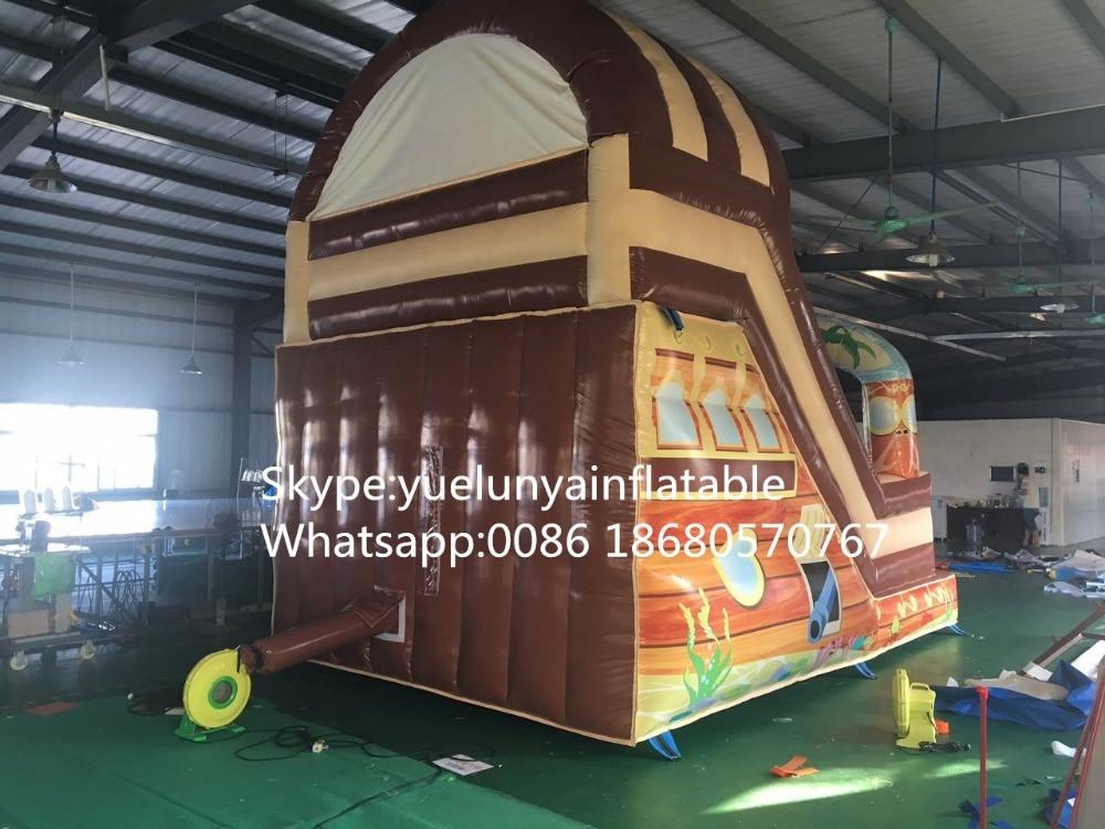 2016 nuevo tobogán inflable directo de fábrica, castillo inflable, - Entretenimiento - foto 5