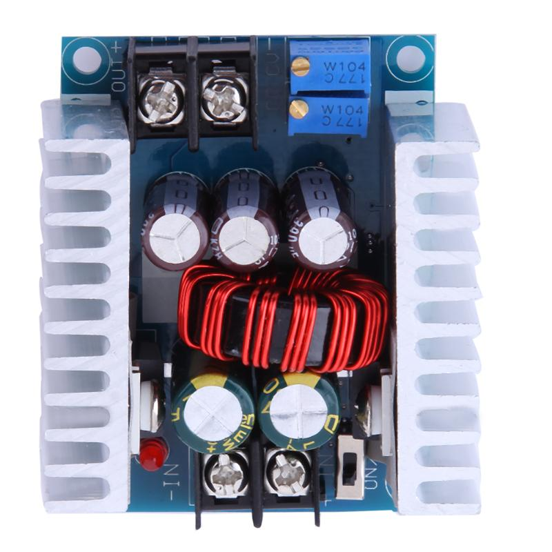 DC 300W 20A CC CV Constant Current Adjustable Step Down Converter Voltage 1.2V-36V DC Buck Module Adjustable Power Supply 1pcs 1500w 30a dc dc cc cv boost converter step up power supply charger adjustable dc dc booster adapter 10 60v to 12 90v module