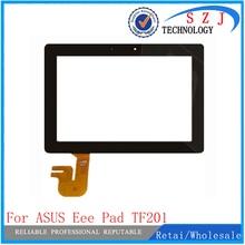 Nueva 10.1 pulgadas de Reemplazo caso PARA ASUS Eee Pad Transformer Prime TF201 pantalla táctil de Cristal digitalizador Negro Envío gratis