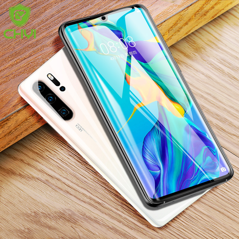 CHYI Curved-Film Screen-Protector Nano Not-Tempered-Glass P30pro Huawei P30 for Full-Cover