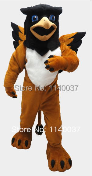 Mascota Gryphon traje de la mascota griffin traje de fantasía de - Disfraces