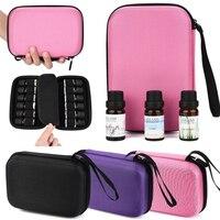 Neue Kreative 12 Roller Flaschen Ätherisches Öl Fall Carry Halter Lagerung Aromatherapie Tasche Tragen-beständig hot Einfach Verwenden C30425