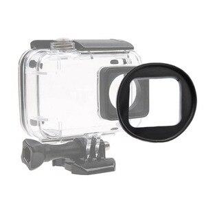 Image 3 - CAENBOO filtro de lente para XiaoMi Yi 4K/II/Lite/Plus Color CPL UV Red Filter Yi 4K carcasa impermeable carcasa 52mm accesorios de buceo