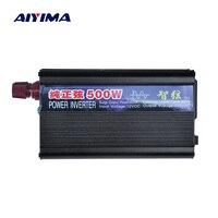 AIYIMA 1PCS 500W Pure Sine Wave Power Inverter DC12V/24V To AC220V Car Home Power Converter