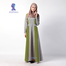 New Style Fashionable Ladies Long Muslim Dress Robe Abayas for Women Turkish Islamic Clothes