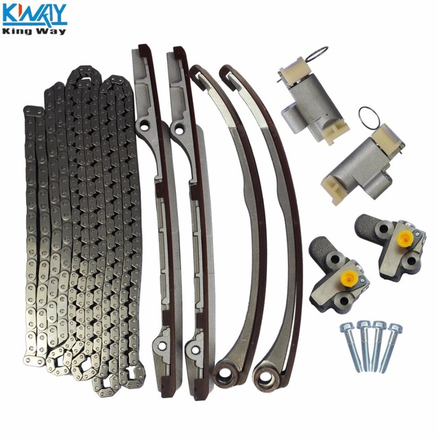 FREE SHIPPING King Way Timing Chain Kit With Tensioners For