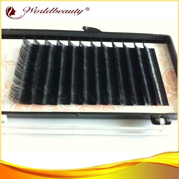 US $69 9 |Free shipping 20 trays wholesale very soft lashes korea pbt fiber  0 07 mink eyelash extensions,3d eyelash extensions-in False Eyelashes from