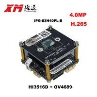 XM Original H 265 IPC 4 0 Megapixel 1 3 CMOS OV4869 Mage Sensor Hi3516D CCTV
