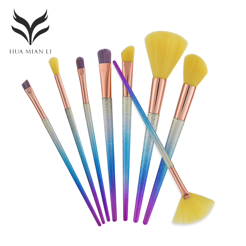 8pcs/kits Makeup Brushes Professional Set Cosmetics Brand Makeup Brush Tools Foundation Brush For Face Make Up Beauty Essentials 8pcs professional honeycomb cosmetic brush makeup brushes sets kits foundation eye face make up blush tools beauty accessory