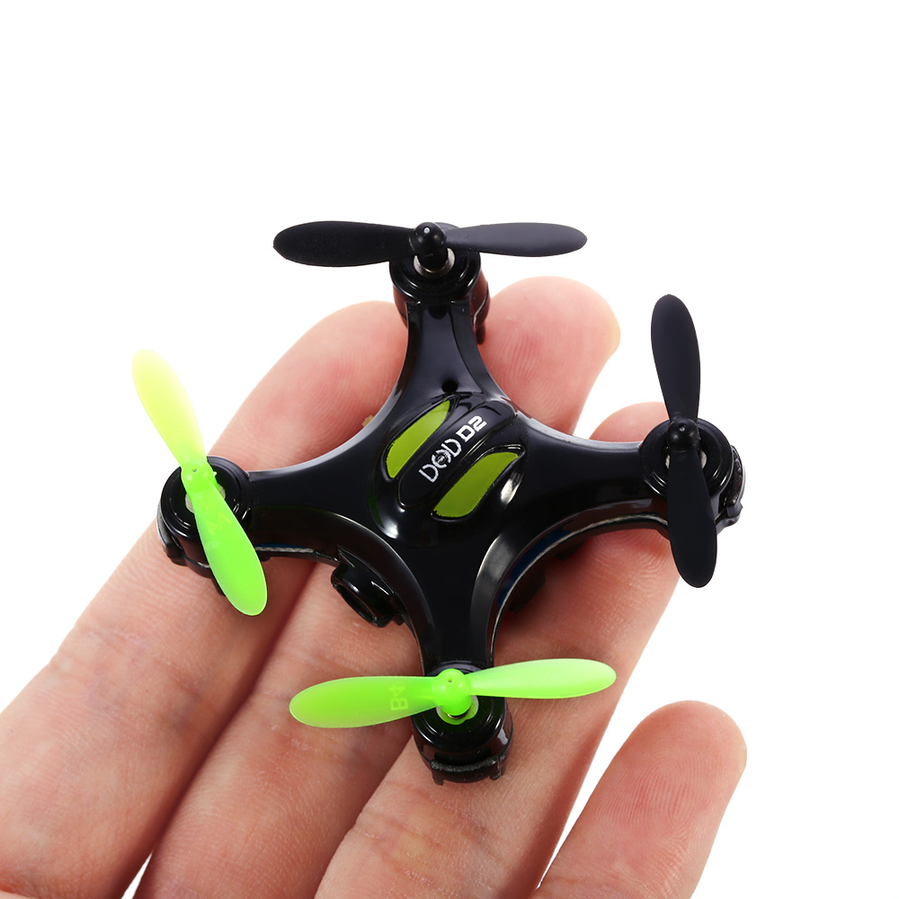 Mini Drone D2 with 2MP Camera  2.4GHz 4 Channel 6 Axis Gyro Led Light Remote Control Quadcopter 3D Rollover RTF Drone rc toys