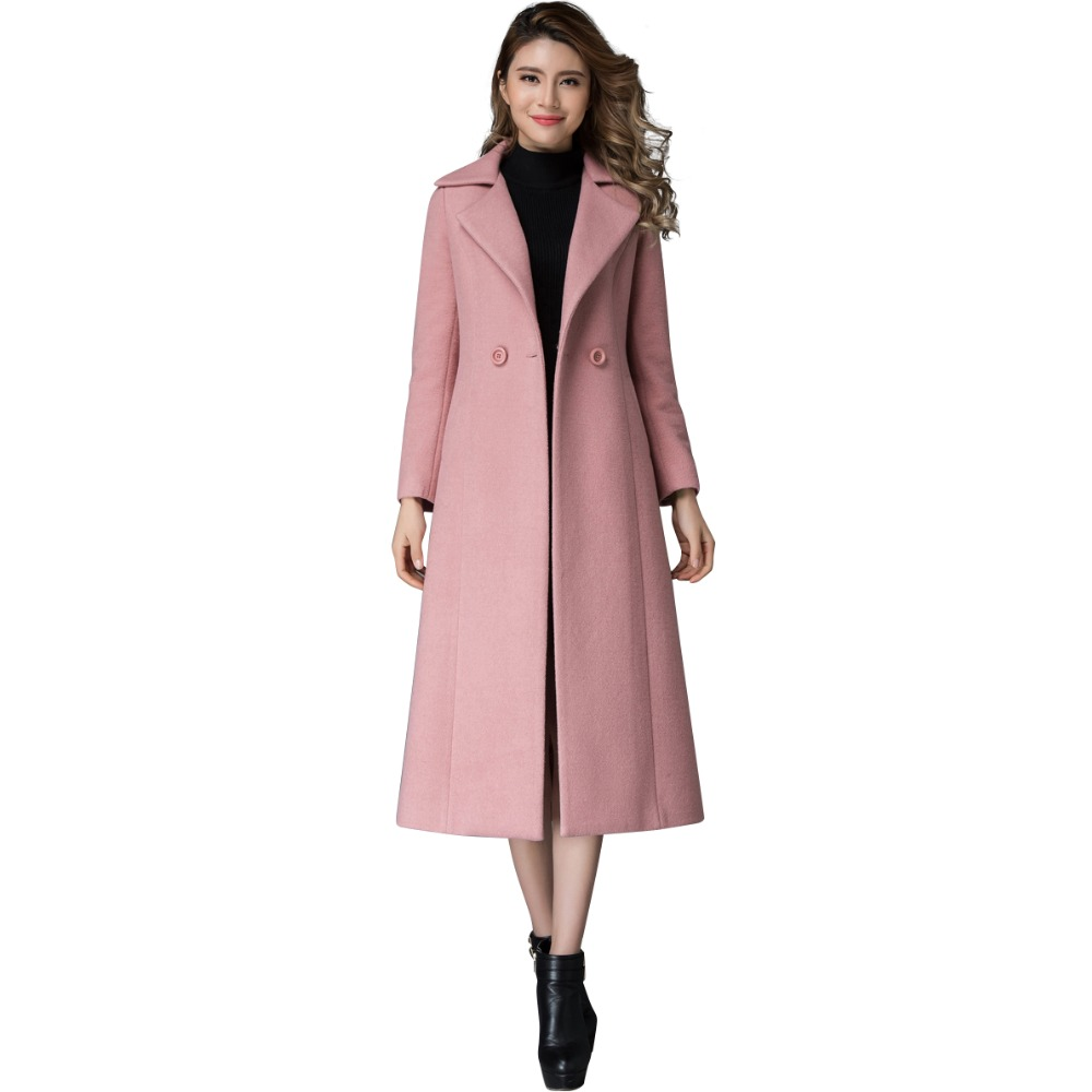 Online Buy Wholesale pink wool coats from China pink wool coats ...