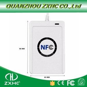 Image 5 - USB считыватель NFC ACR122U, устройство для чтения карт для ISO14443, протокол S50, Ntag213, Ntag215, Ntag216