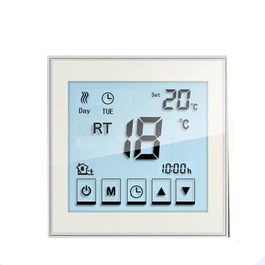 все цены на Free Shipping 16A Touch Screen Digital Floor Heating Thermostat Room Electric Heating Thermostat онлайн