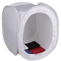 80 cm Photo Studio Ánh Sáng Tent Softbox Hộp Mềm Chụp Cube đổ thiết bị chụp ảnh 4 bầy vải nền in CD50