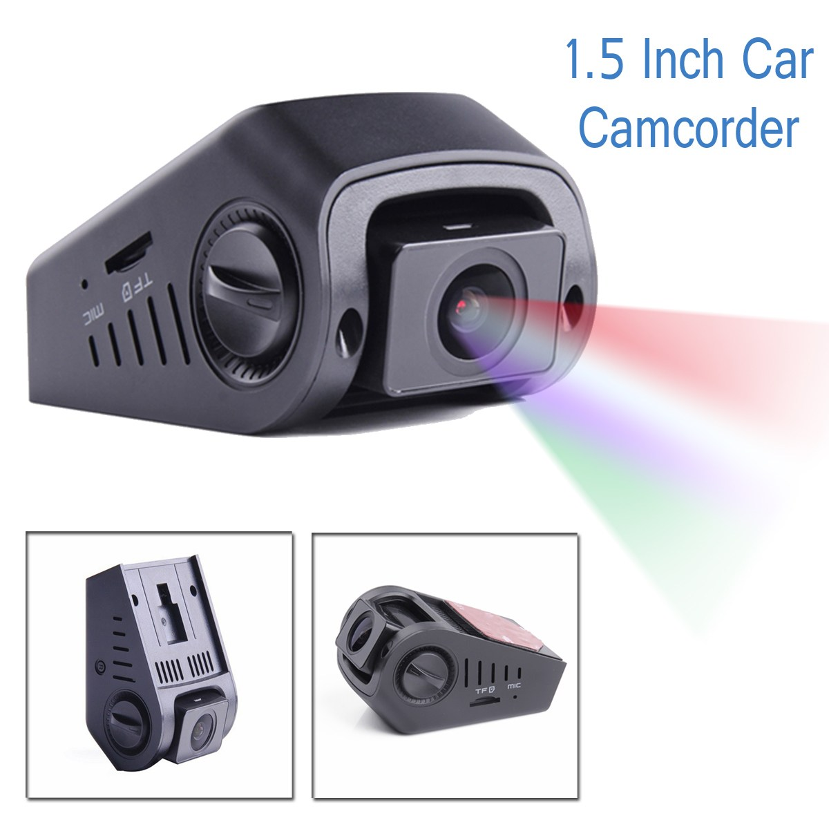 A118C2 V2 Version DVR 1.5 Inch Car Camcorder 1080P Car Recorder With GPS Module for Car Wide Dynamic Range Capability