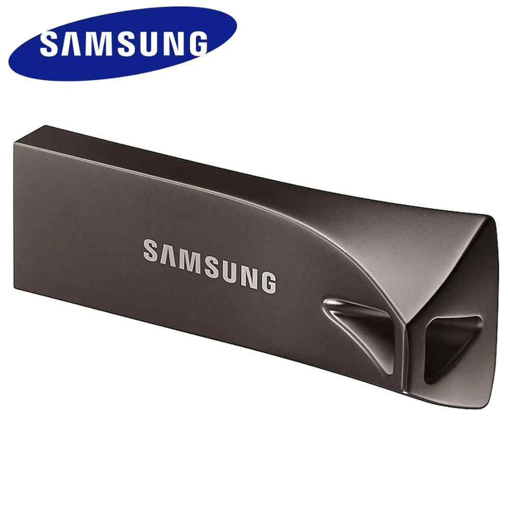 SAMSUNG USB Flash disco 16 GB 32 GB 64 GB 128 GB 256GB USB 3,1 de Metal Mini Pen Drive memoria Pendrive Stick Dispositivo de almacenamiento de disco de U