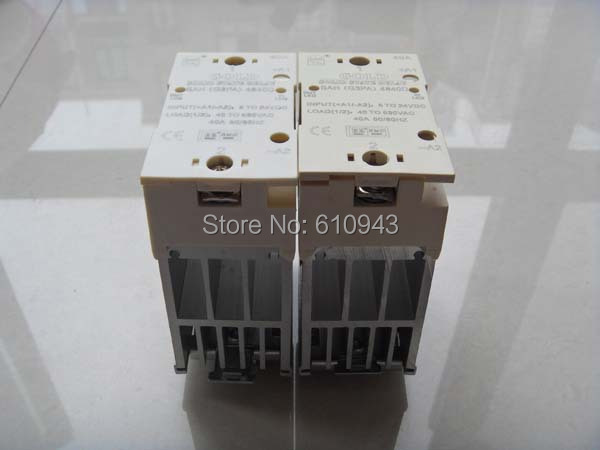 Wholesale - AC SSR with HeatsinkSAH4840D,solid state relay,ssr,relay,Hight quality ssr ssr 40aa solid state relay