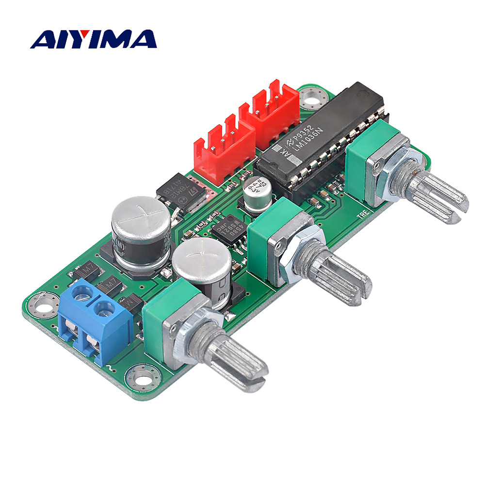 Buy Aiyima Tone Board 2604 Ad827 Fever Amplifier 20v Ultra Precision Op Amps Lm1036n Preamplifier Volume Control Stereo With 4580 Low Noise