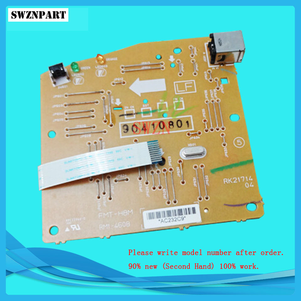 FORMATTER PCA ASSY Formatter Board logic Main Board MainBoard mother board for HP P1006 P1008 RM1-4607-000 RM1-4607-000cn rm1 2365 feed drive board assy paper pickup pcb for hp cm4730